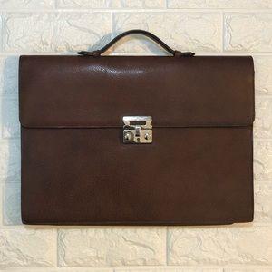 Authentic Vintage SALVATORE FERRAGAMO Briefcase
